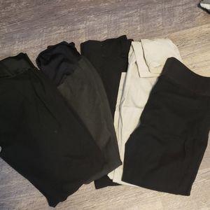 Maternity work pants